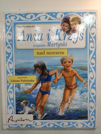 Ania i Krzyś przyjaciele Martynki nad morzem