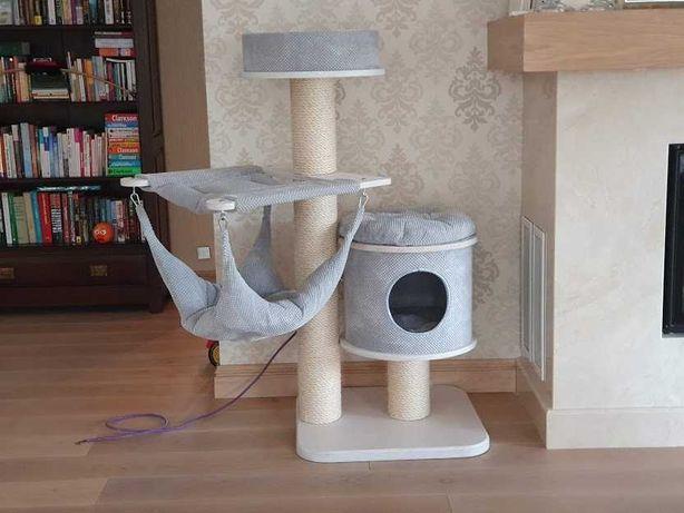 Drapak legowisko hamak dla kota
