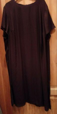 Sukienka XXL przyjemna dla ciała