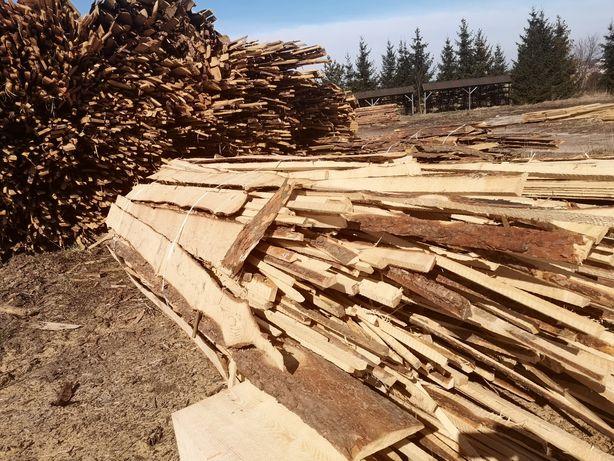 Drewno opałowe tartaczne zrzyny