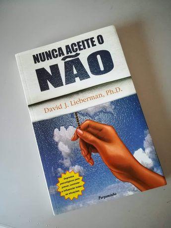 Livro Nunca aceite o Não