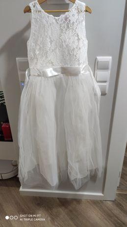 Vestido festa  branco novo