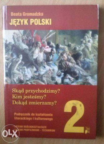 Język polski 2 Nowa era Podręcznik liceum technikum