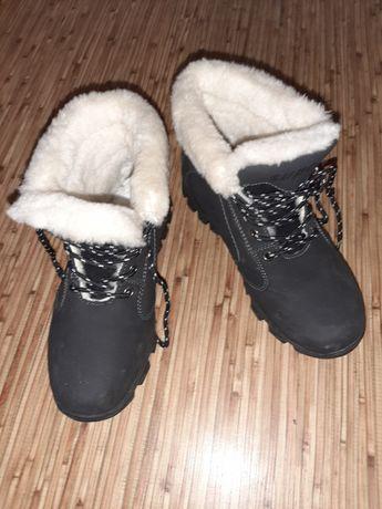 Ботинки на овчине женские зима Supo-tex