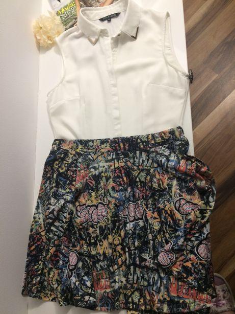 Top secret biała koszula 34 / 36 rozmiar