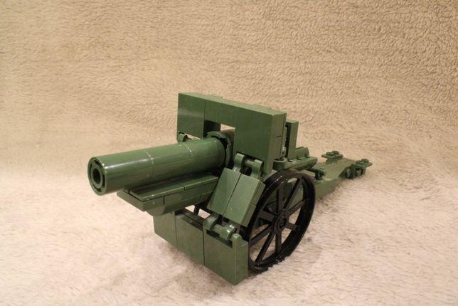 155MM Field Howitzer 1917, 2981 Klocki Cobi