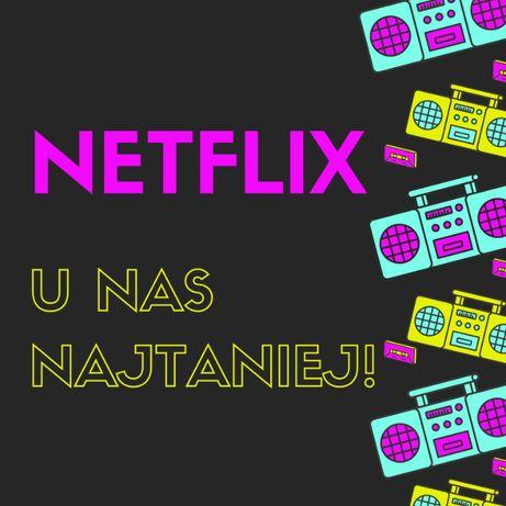 Konta premium NETFLIX- najtańsze | nieblokowane