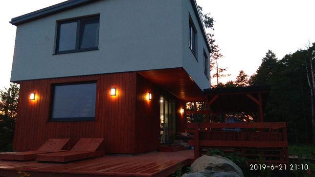 Wynajmę nowy dom nad rzeczką w otulinie Biebrzy 50 km od Białegostoku