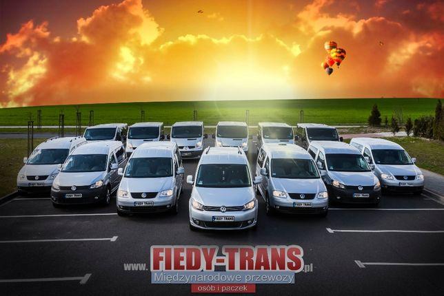 Busy do Niemiec Stargard, przewozy osób do Belgii oraz Luksemburga