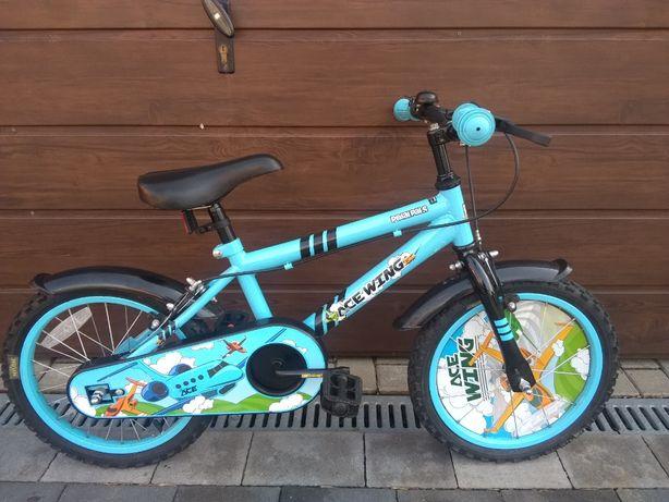 """Rower rowerek dziecięcy 16"""" NOWY chłopięcy"""