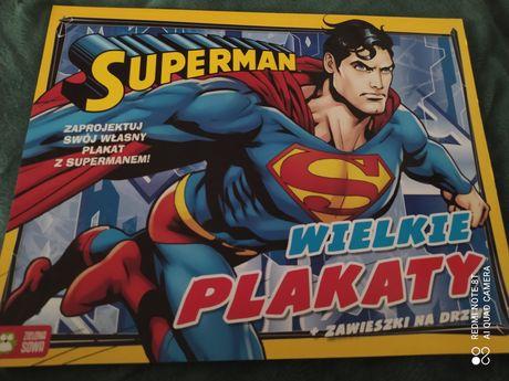 Książeczka supermen Wielkie plakaty