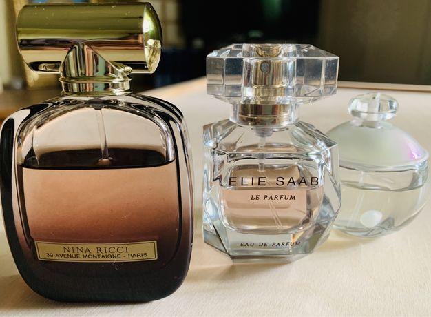 Продам духи Nina Ricci L'Extase, Cacharel Noa, Elie Saab Le parfum