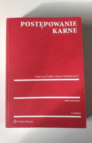 Postępowanie Karne Katarzyna Dudka, Hanna Paluszkiewicz 4. wydanie