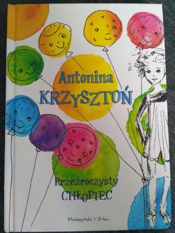Książka - Przezroczysty chłopiec A. Krzysztoń!