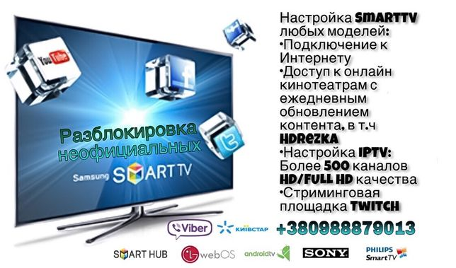 Настройка Smart TV ( Смарт ТВ) SmartTV, Разблокировка SmartHUB Samsung