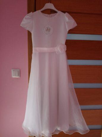 Sukienka na komunie komunijna 134 - 140