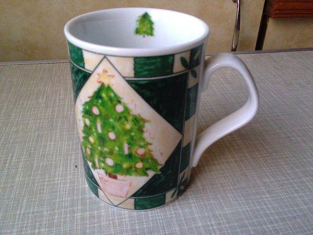 """Чашка-кружка чайная Gallery """"Новогодняя елка (ель)"""" ПОДАРОК"""