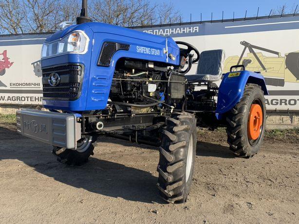 Трактор (не мототрактор) шифенг 240 оригінал на великих колесах