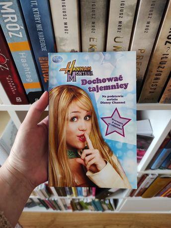 Książka Hannah Montana Dochować tajemnicy