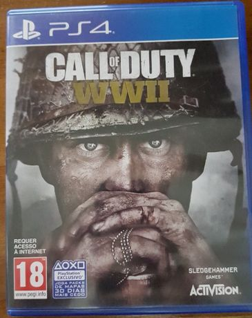 Vende-se jogo Call of Duty para ps4
