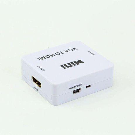 Conversor / Adaptador VGA para HDMI (Audio e Video)