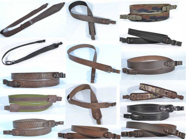 Ремень ружейный, Ремень для ружья (Ткань, кожа)