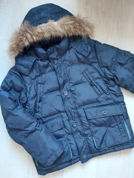 Куртка мужская, зимняя, с капюшоном