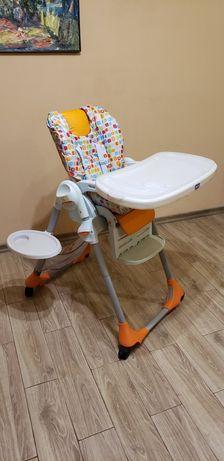 Продам детское кресло со столиком для кормления Chicco Polly 2 в 1