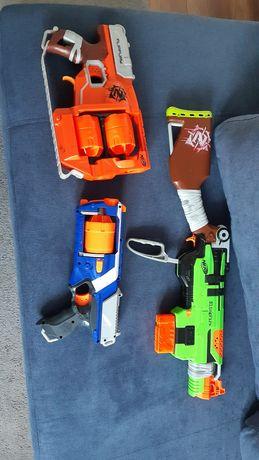Nerfy 3 pistolety