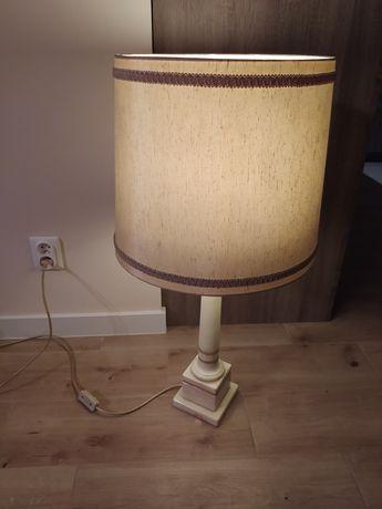 Lampa onyks marmur. 2 abażury.