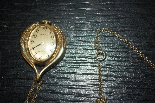 Швейцарские часы в виде кулона с цепочкой Formatic