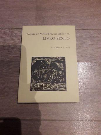 Livro Sexto Sophia Mello Breyner