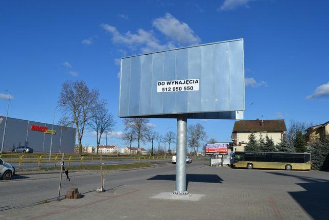 Wynajmę billboard - świetna lokalizacja