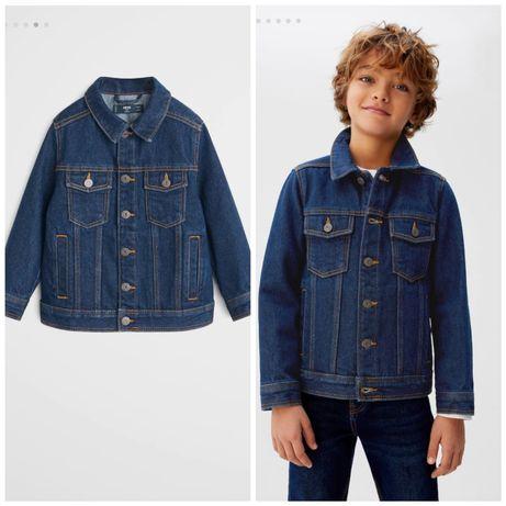 Новая джинсовая куртка, джинсовка,   Mango,  Zara  122, 128,140