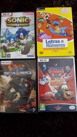 CD ROM jogos para PC