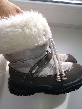 Зимние термо ботинки сапоги дутики сноубутсы CHICCO Италия 25 р 16 с