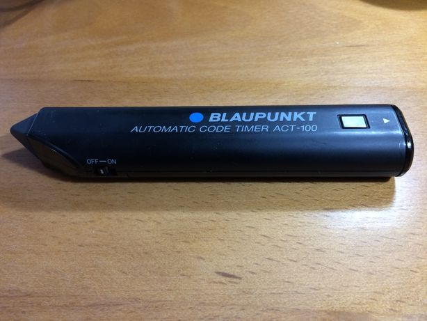 Controle remoto ACT-100 para gravadores de vídeo Blaupunkt