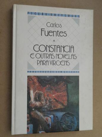 Constância e Outras Novelas Para Virgens de Carlos Fuentes - 1ª Edição