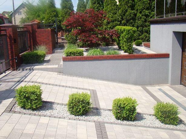 Zakładanie ogrodów, trawników, nawodnienia, glebogryzarka separacyjna