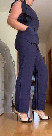 Macacão azul Zara