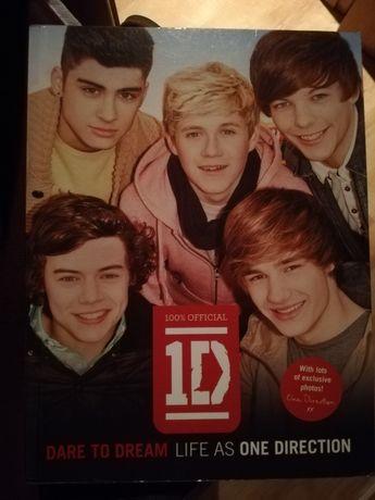 "Livro One Direction ""Dare to Dream"" - Versão Inglesa"