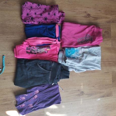 Ubrania dla dziewczynki 116 122