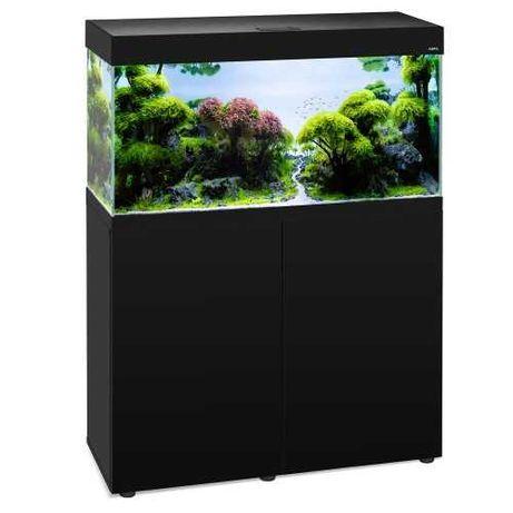 Akwarium szafka  opti set 125L 81x36x51 zestaw akwarium led czarne