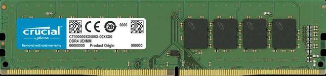 ОЗУ Crucial 16GB DDR4-2400 UDIMM
