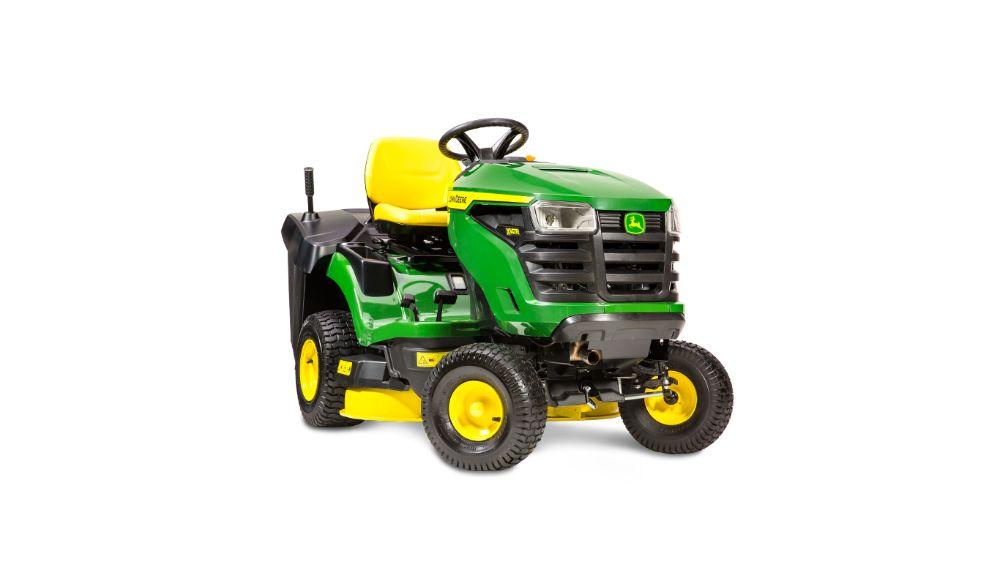 Traktor ogrodowy John Deere X147R - Baras