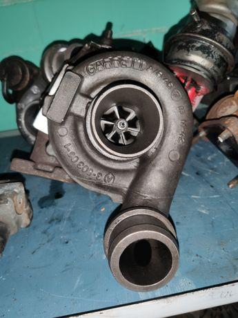 Турбина 80кВт VW LT 28-46 2.5 TDI нагнетатель Фольксваген ЛТ 35 46