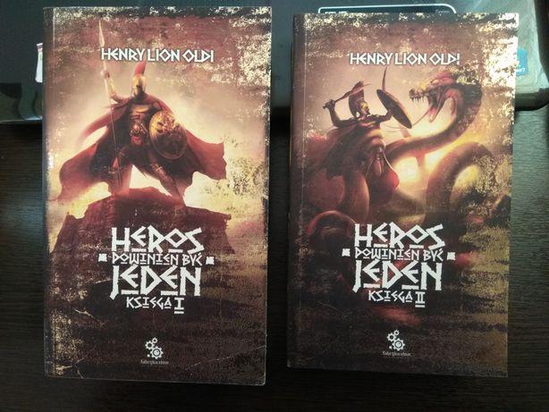 Heros powinien być jeden Henry Lion Old Księga I i Księga II