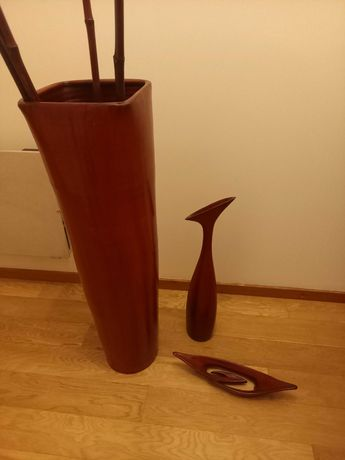 Vaso de barro vermelho