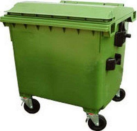Contentor depósito caixote do lixo 1000 Litros em polietileno