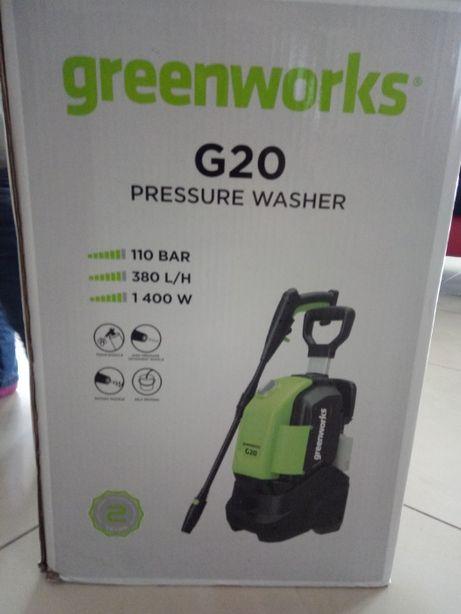 Myjka ciśnieniowa Greenworks G20 1400W 110bar